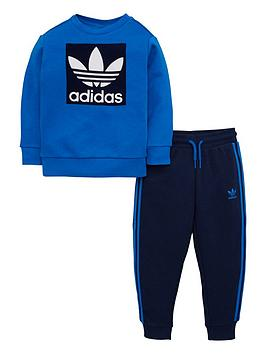 adidas-originals-infant-crew-set-bluenavy