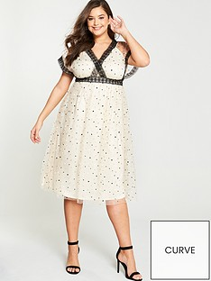 little-mistress-curve-spot-mesh-wrap-dress-cream-black