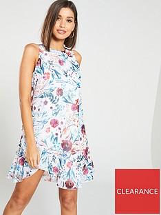 little-mistress-floral-print-chiffon-ruffle-mini-dress-multi