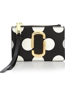 marc-jacobs-snapshot-top-zip-polka-dot-pursenbsp--blackwhite