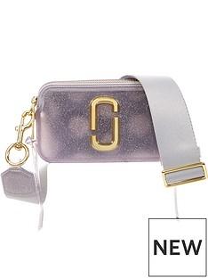 marc-jacobs-snapshot-jelly-glitter-cross-body-bag-silver
