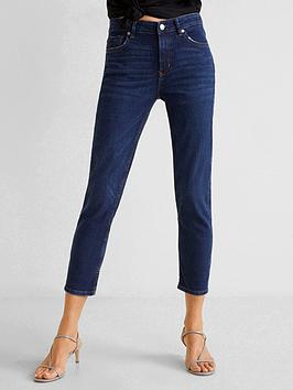 mango-grace-kick-flare-jeans-dark-wash