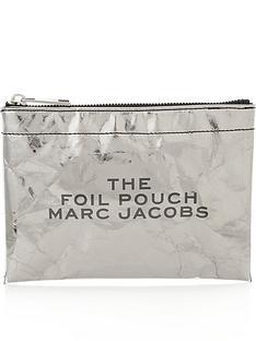 marc-jacobs-flat-foil-logo-pouch-silver