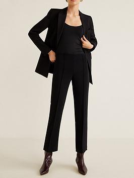 mango-mango-kick-flare-trousers-black