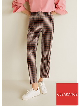 mango-check-trouser