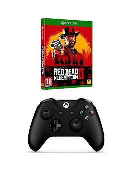 Xbox One Xbox One Wireless Controller Black & Rdr2