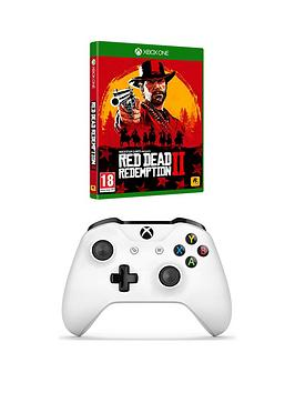 Xbox One Xbox One Wireless Controller White & Rdr2