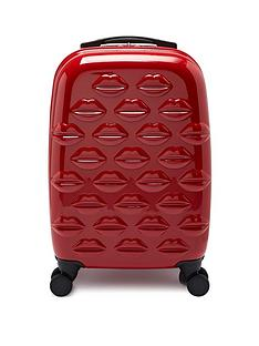 lulu-guinness-small-lips-hardside-spinner-case