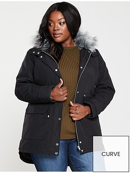 v-by-very-curve-faux-fur-parka-coat-black