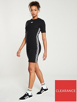 adidas-originals-tee-dress-blacknbsp