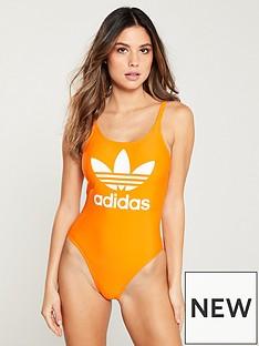 adidas-originals-trefoil-swimsuit-orangenbsp