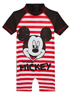 mickey-mouse-boys-surf-suit-redwhite