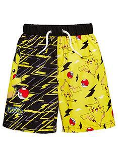 pokemon-boys-board-shorts-black