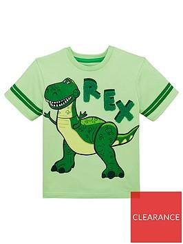 toy-story-boys-rex-short-sleeve-t-shirt-green