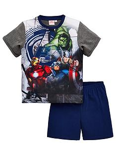 3313d7152 The Avengers Boys Shorty Pyjamas - Multi