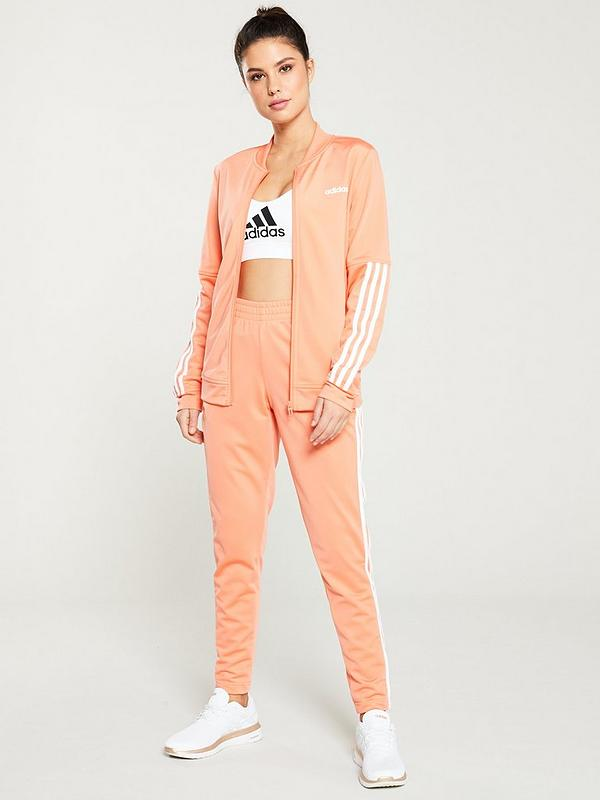 various styles fashion styles shoes for cheap Back 2 Basics 3 Stripe Tracksuit - Coral
