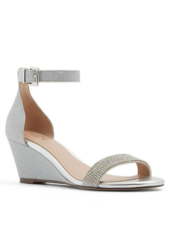 d4323c2ea3214 CALL IT SPRING Call It Spring Vegan Cambrena Wedge Sandal | very.co.uk