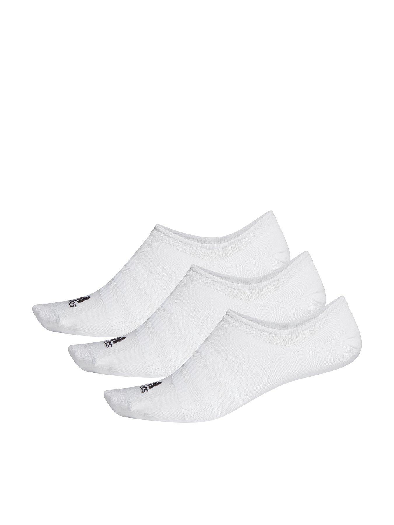 New Men/'s Women/'s Plain Trainer Socks Trainer Boot Ankle Footwear Black /& White