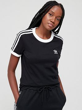 adidas-originals-3-stripe-tee-blacknbsp