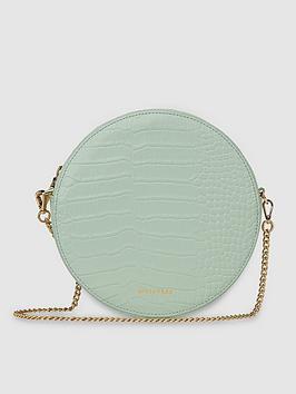 whistles-leather-brixton-circular-croc-cross-body-bag-pale-green