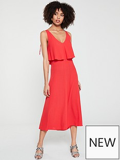 whistles-romina-dress-red