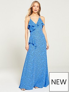 whistles-lunar-spot-maxi-dress-blue-multi