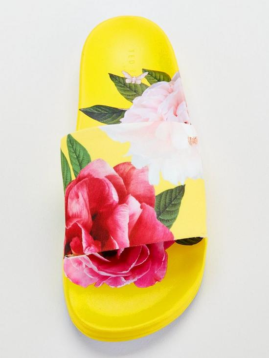 c9b68f6319fd6f ... Ted Baker Avelini Slides - Yellow. Purchased 5 times in the last 48 hrs.