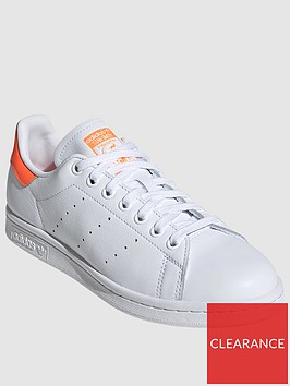 adidas-originals-stan-smith-whiteorangenbsp