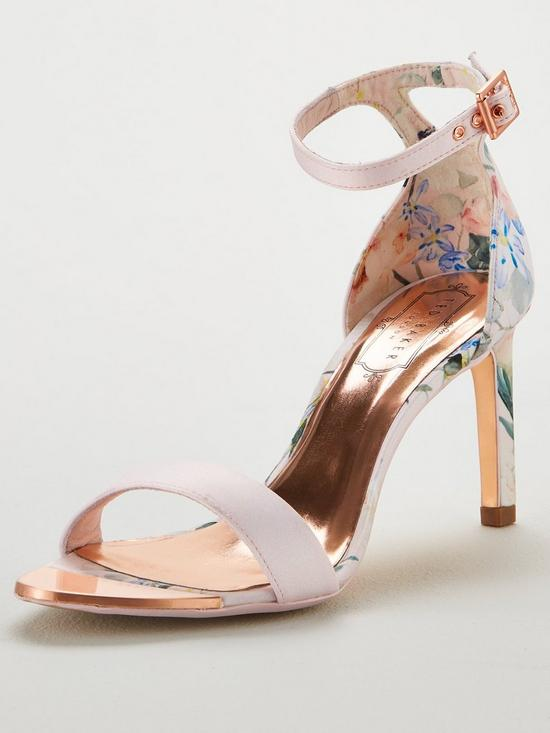 63ab4a94ed7583 Ted Baker Ulaniip Heeled Sandals - Pink