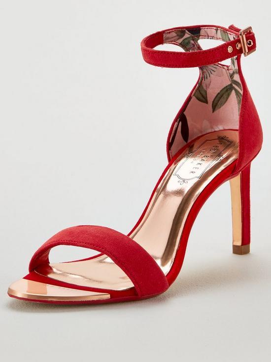 fbcaf2047 Ted Baker Ulanis Heeled Sandals - Red