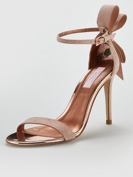 29c941af8 Ted Baker Zandala Heeled Sandals - Nude