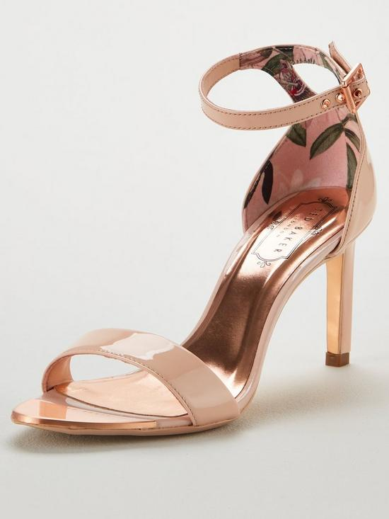 188e15693 Ted Baker Ulanii Heeled Sandals - Nude