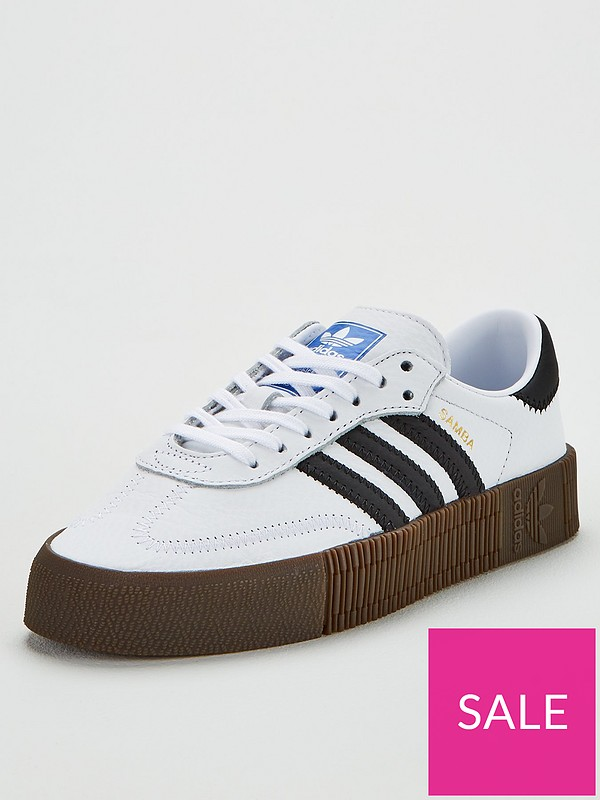 buy cheap cheap price outlet online adidas Originals Sambarose - White | very.co.uk