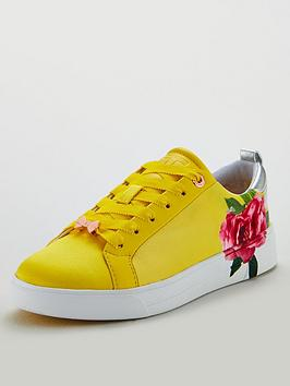 ted-baker-rialy-trainers-yellow
