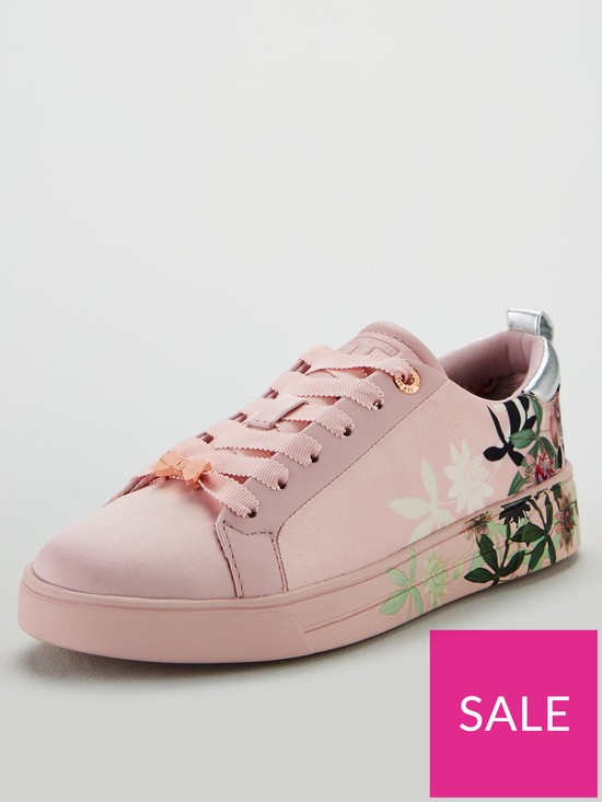 40a9fbe38 Ted Baker Rialy Trainers - Pink | very.co.uk