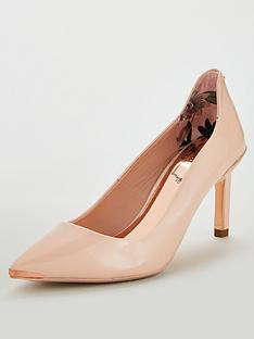 880e9aa7296a05 Ted Baker Eriinl Court Shoes - Nude