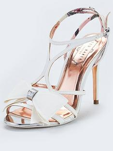 dd7fbca8e Ted Baker Arayi Bow Heeled Sandals - White