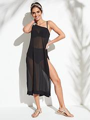 9a7bdb4f01 Ted Baker Yeltino Embellished One Shoulder Beach Cover Up - Black