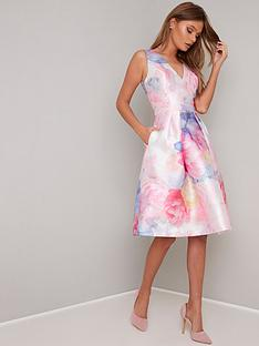 chi-chi-london-ohanna-v-neck-2-in-1-dress-pink