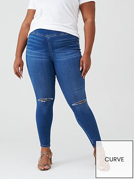 v-by-very-curve-ripped-knee-high-waisted-jegging-mid-wash