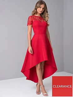 chi-chi-london-oti-lace-back-high-low-midi-dress-red