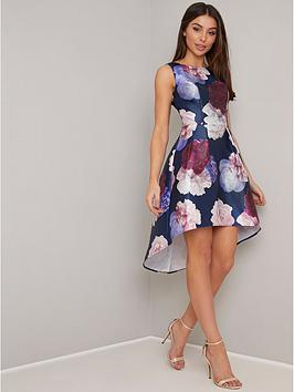 chi-chi-london-marigold-dip-hem-floral-prom-dress-navy