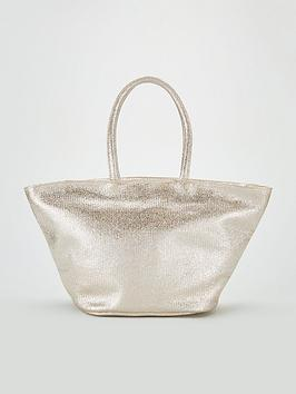 v-by-very-jamie-metallic-shimmer-tote