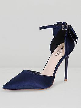 chi-chi-london-jenna-bow-back-ankle-strap-court-shoes-navy