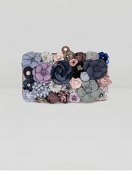 chi-chi-london-cienna-floral-clutch-bag-multi