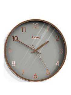 jones-clocks-dollar-copper-and-grey-dial-wall-clock