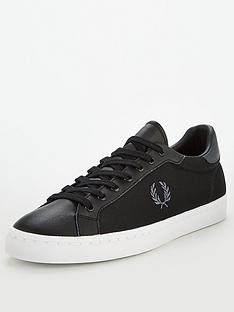 fred-perry-lawn-leathermesh-plimsolls