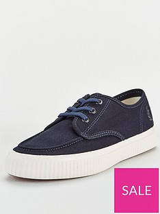 fred-perry-ealing-low-canvas-plimsoll