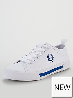 fred-perry-horton-canvas-plimsoll