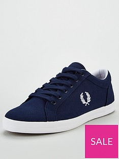 fred-perry-baseline-canvas-plimsolls